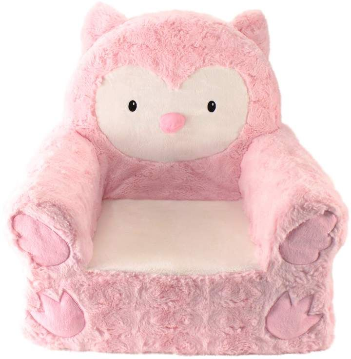 Fine Animal Adventure Sweet Seat Pink Owl Chair In 2019 Soft Theyellowbook Wood Chair Design Ideas Theyellowbookinfo