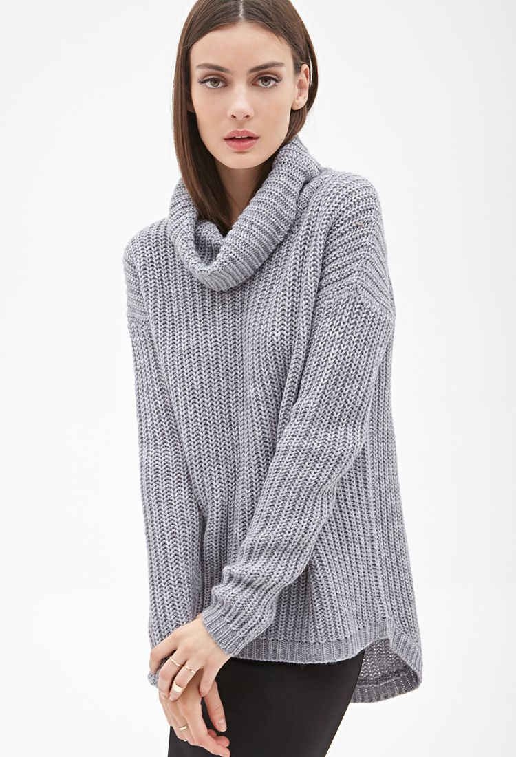 Oversized Turtleneck Sweater | FOREVER21 - 2000102454 | On Tops of ...