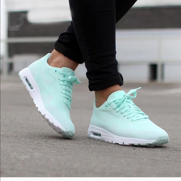 cheaper 49c37 3a974 Nike Air Max 1 Ultra Moire in FiberGlass (RARE) Nike AirMax Ultra Moire in  Fiberglass (mint or Tiffany blue). Very rare. Size 8 (I'm a 6.5/7 and they  fit ...