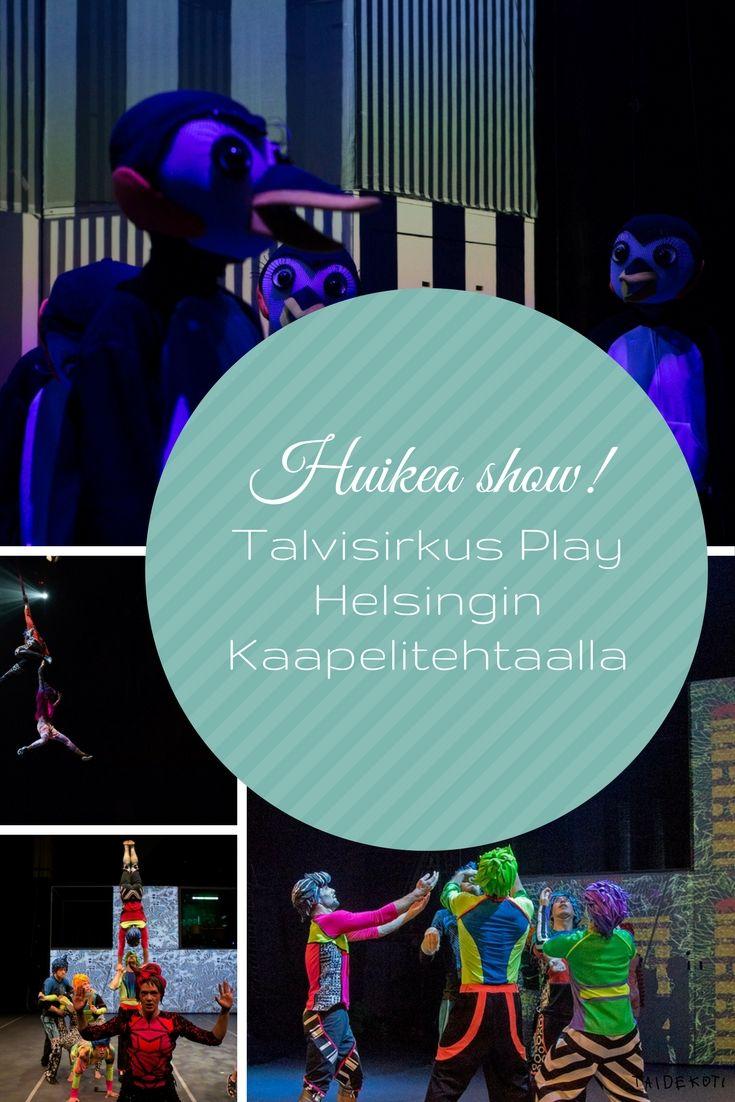 Talvisirkus Play / kuvat: Jouni Ihalainen (2017)