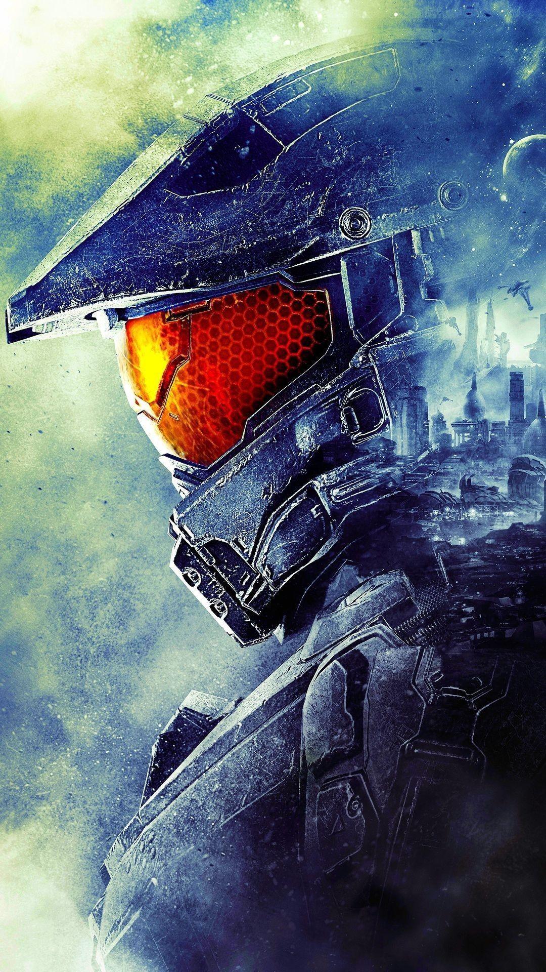 Halo 5 Master Chief Helmet : master, chief, helmet, Badass, Wallpaper, Master, Chief,, Game,, Chief, Helmet