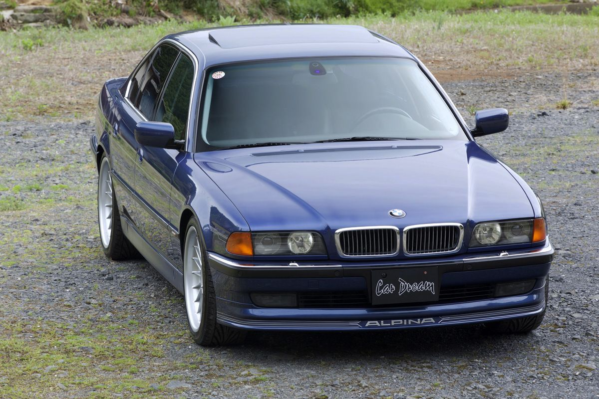 BMW Alpina B E Schwartzerdesscode Pinterest BMW - Bmw e38 alpina for sale