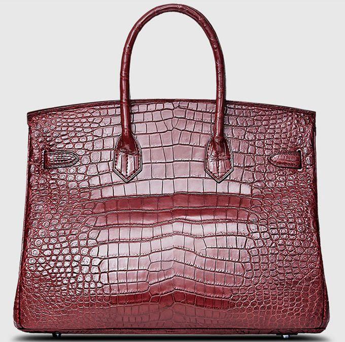 Hermes Handbags Leather