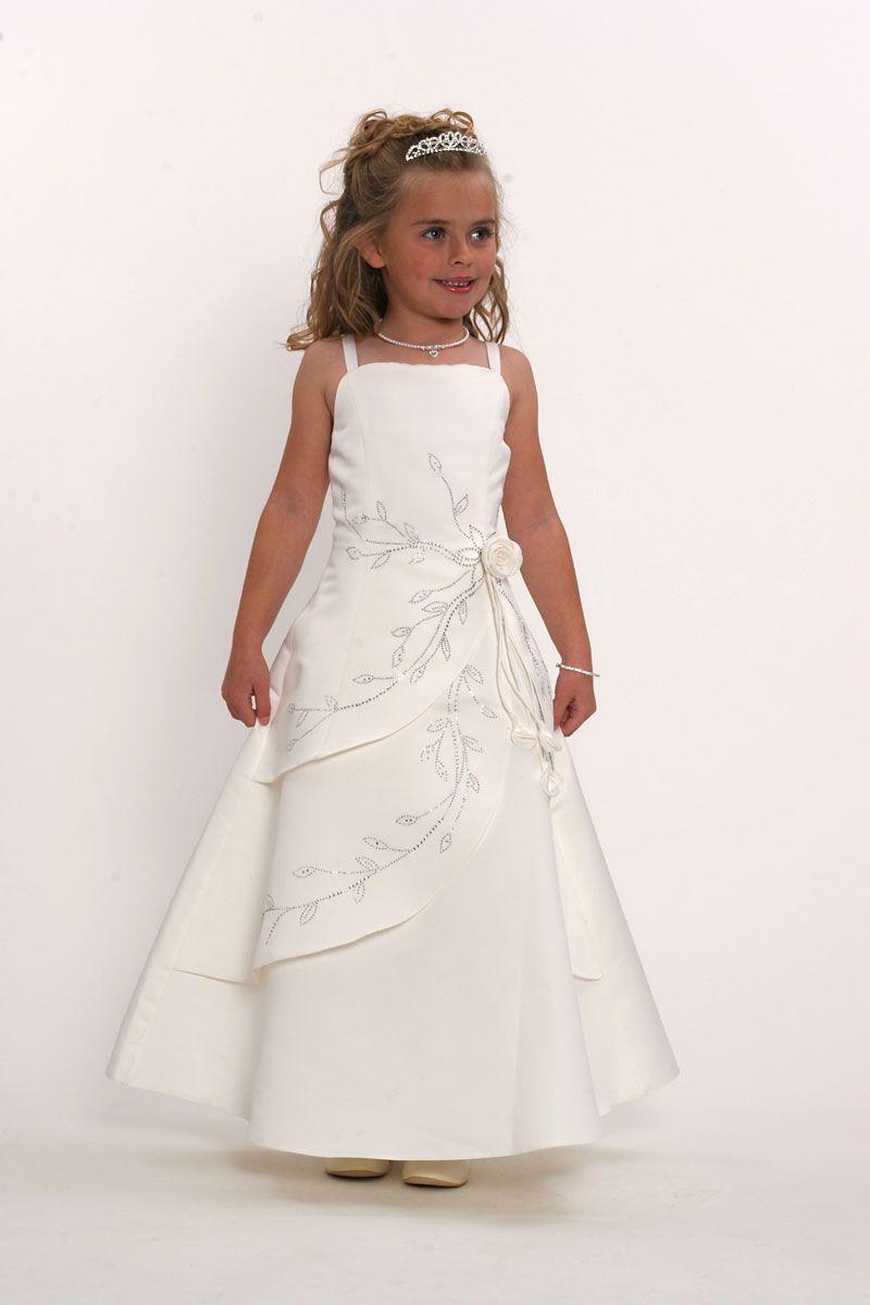 One side strap wedding dress  Bridal quality slight aline dress Dress is made of rich bridal