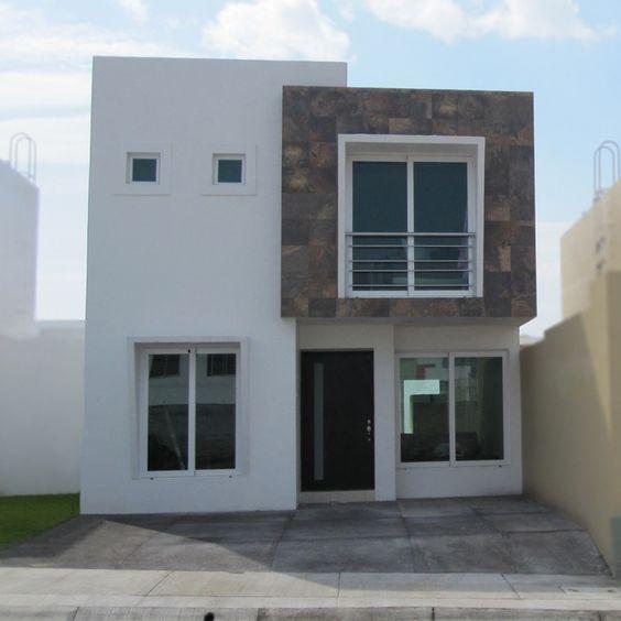 Fotos e im genes de fachadas contempor neas de casas para for Losetas para fachadas