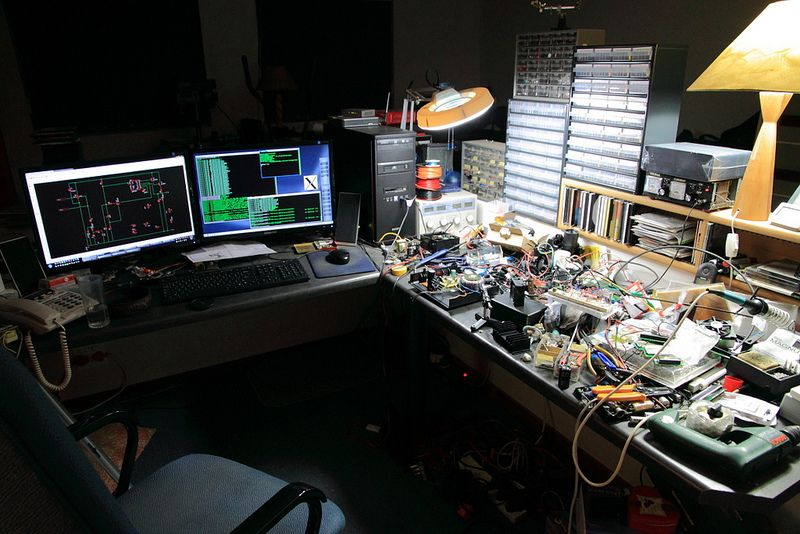 Diy Electronics Repair Workbench : Electronics bench and workstation flickr photo sharing