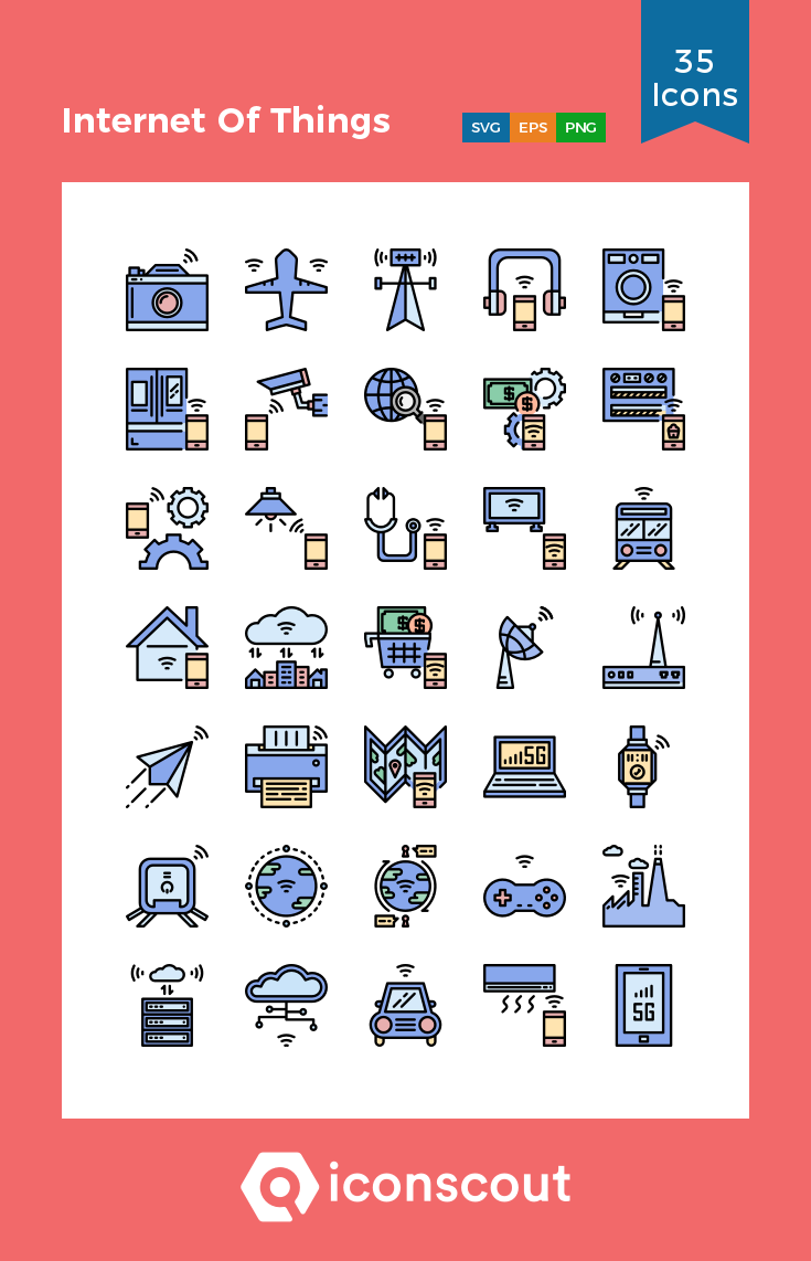 Download Internet Of Things Icon Pack Available In Svg Png Eps Ai Icon Fonts In 2020 Icon Icon Pack Icon Font