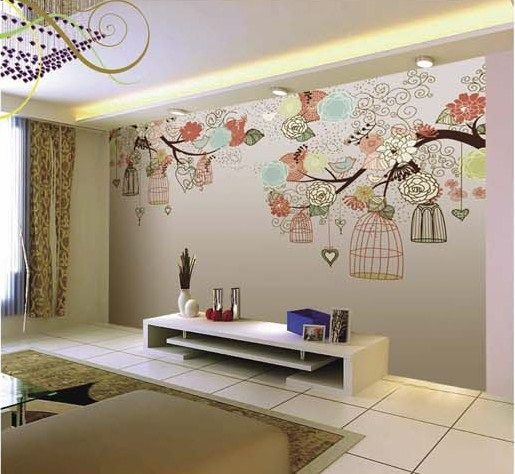 Whimsical Vintage Wall Murals | Design A Wall Murals ...
