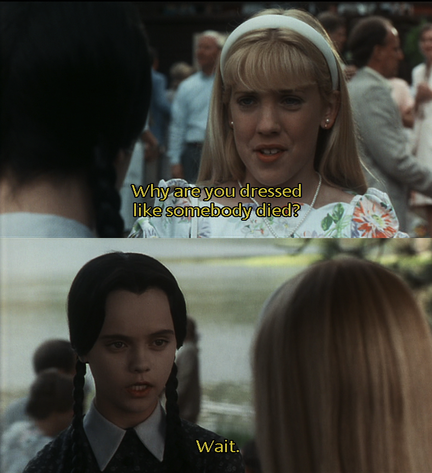 Addams family quotes addams family values the addams