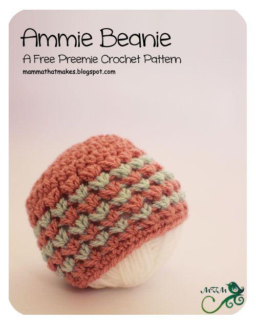 2 Ammie Beanie Angel And Preemie Patterns Pinterest Preemie
