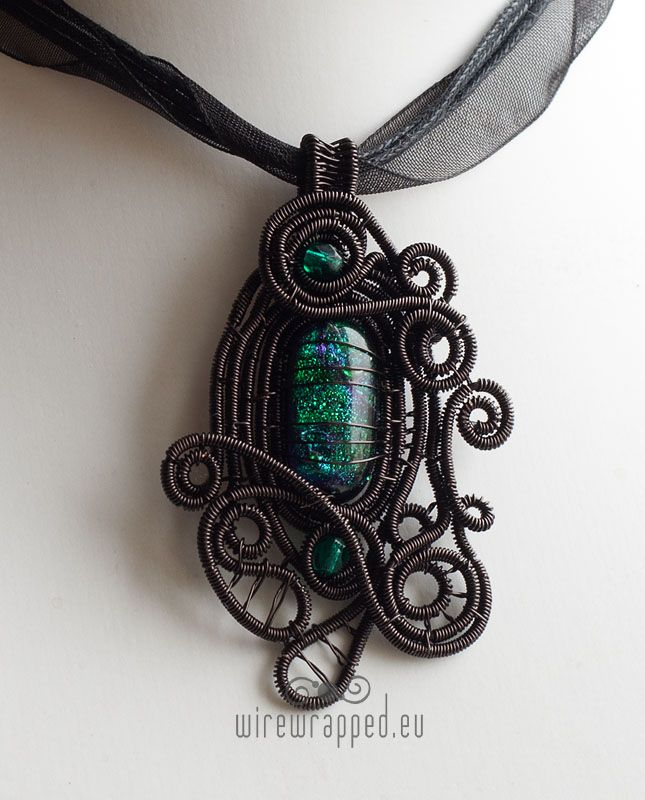 Dichroic glass gothic pendant by ukapala jewellery pinterest dichroic glass gothic pendant by ukapala aloadofball Gallery