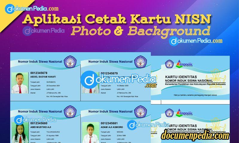 Aplikasi Cetak Kartu Nisn Fitur Photo Dan Background Berbasis Excel Aplikasi Cetak Kartu Nisn Fitur Photo Dan Background Berbasis Aplikasi Kartu Pendidikan