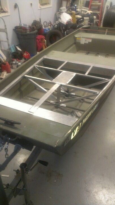 Modifying Aluminum Boat