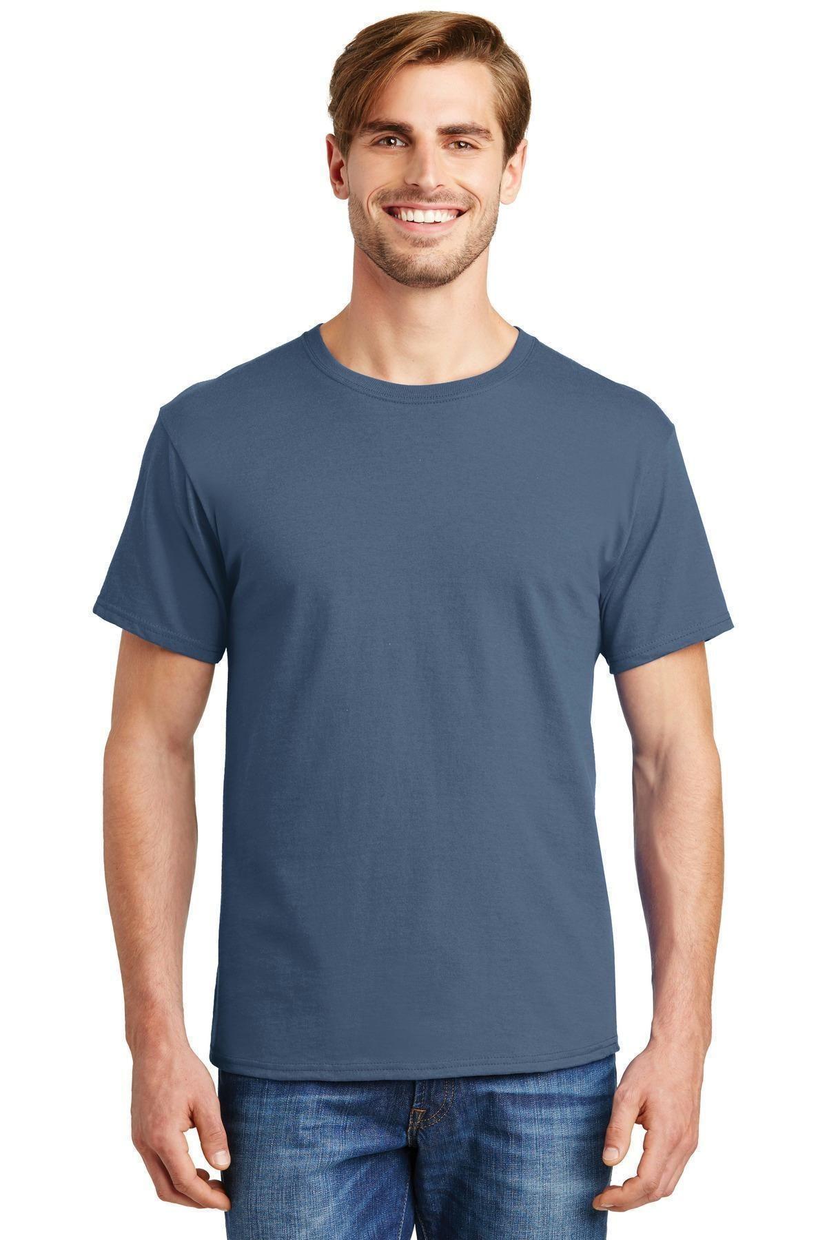 ss Hanes Men/'s ComfortSoft Heavyweight 100/% Cotton Tagless S-3XL T-Shirt 5280