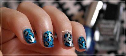 manicura leopardo