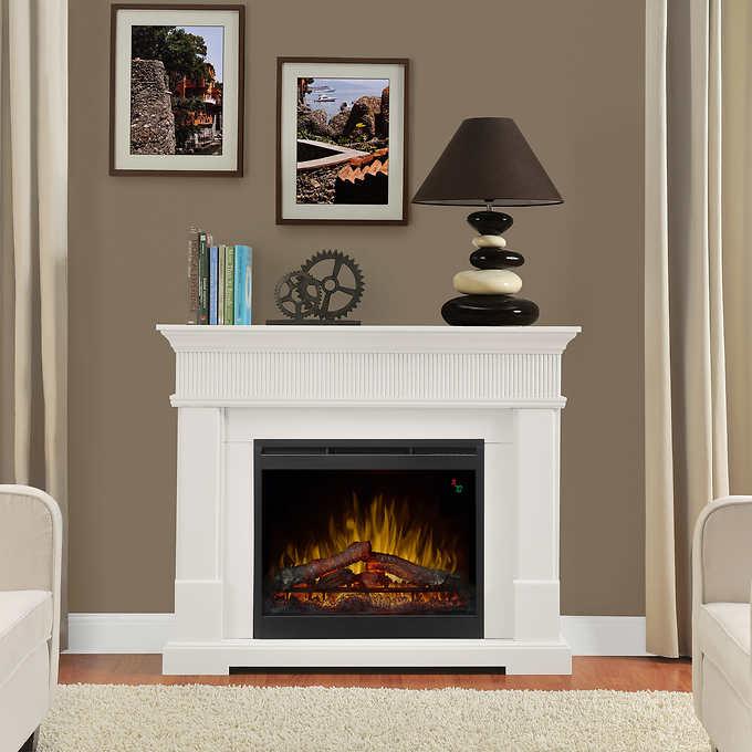 Woodridge 49 5 Mantel Electric Fireplace White Electric