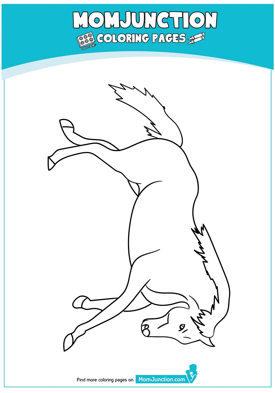 Quarter Horse 17 Horse Coloring Pages Coloring Pages Horse Coloring [ 1500 x 1050 Pixel ]