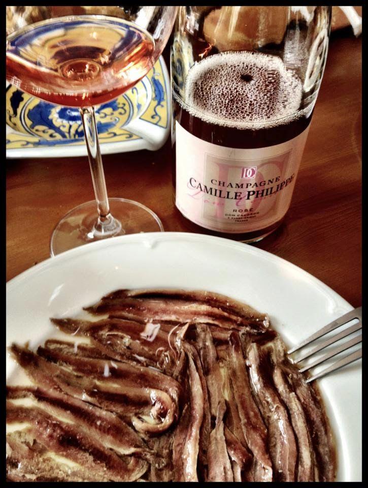 El Alma del Vino.: Champagne Dom Caudron Cuvée Camille Philippe Rosé.