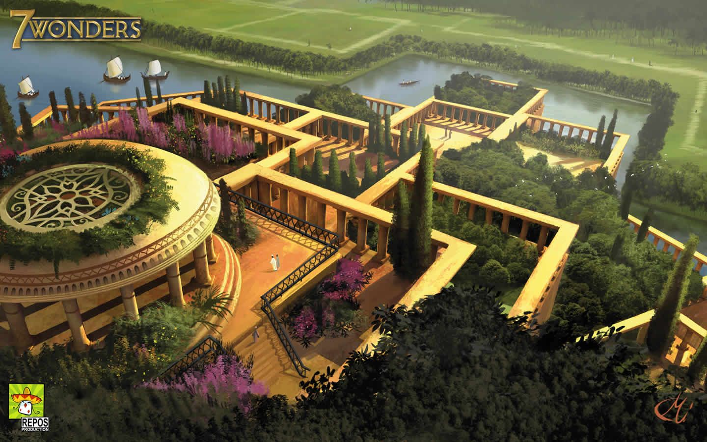 The Hanging Gardens Of Babylon wallpapers | HD Windows Wallpapers ...