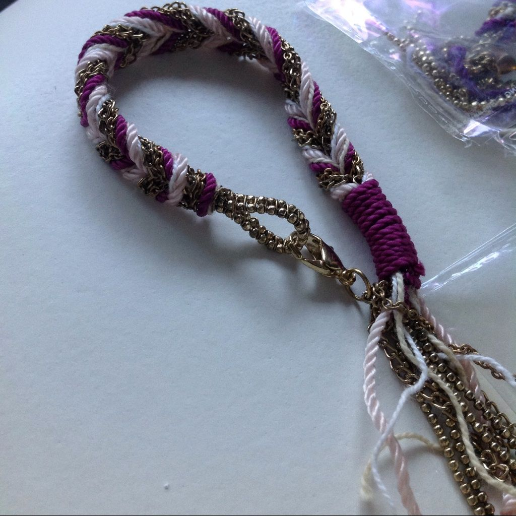 Set of gold chain silk thread indian bracelet products