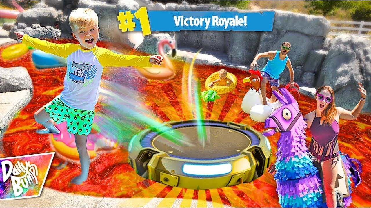 Poolheizung Coop Fortnite Pool Is Lava Challenge Victory Royale Db