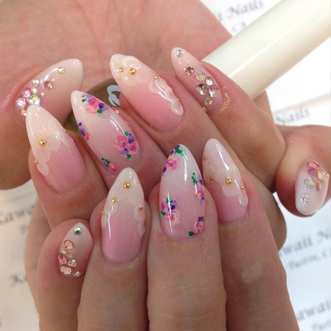 Pin by Nina Butler on Nailed it | Pinterest | Manicure, Kawaii nails ...