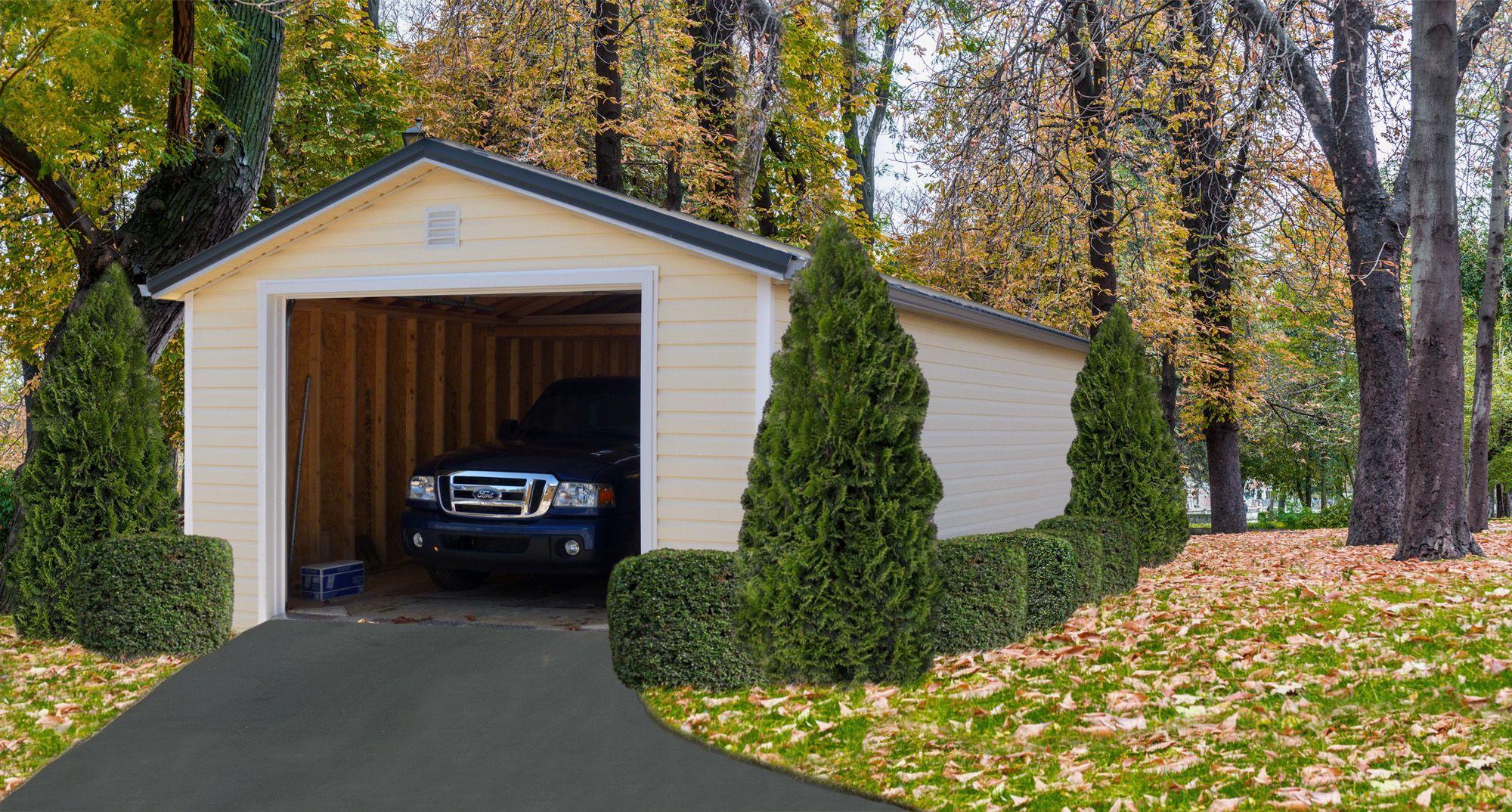 Buy a Portable Garage in KY | Portable garage, Prefab ...