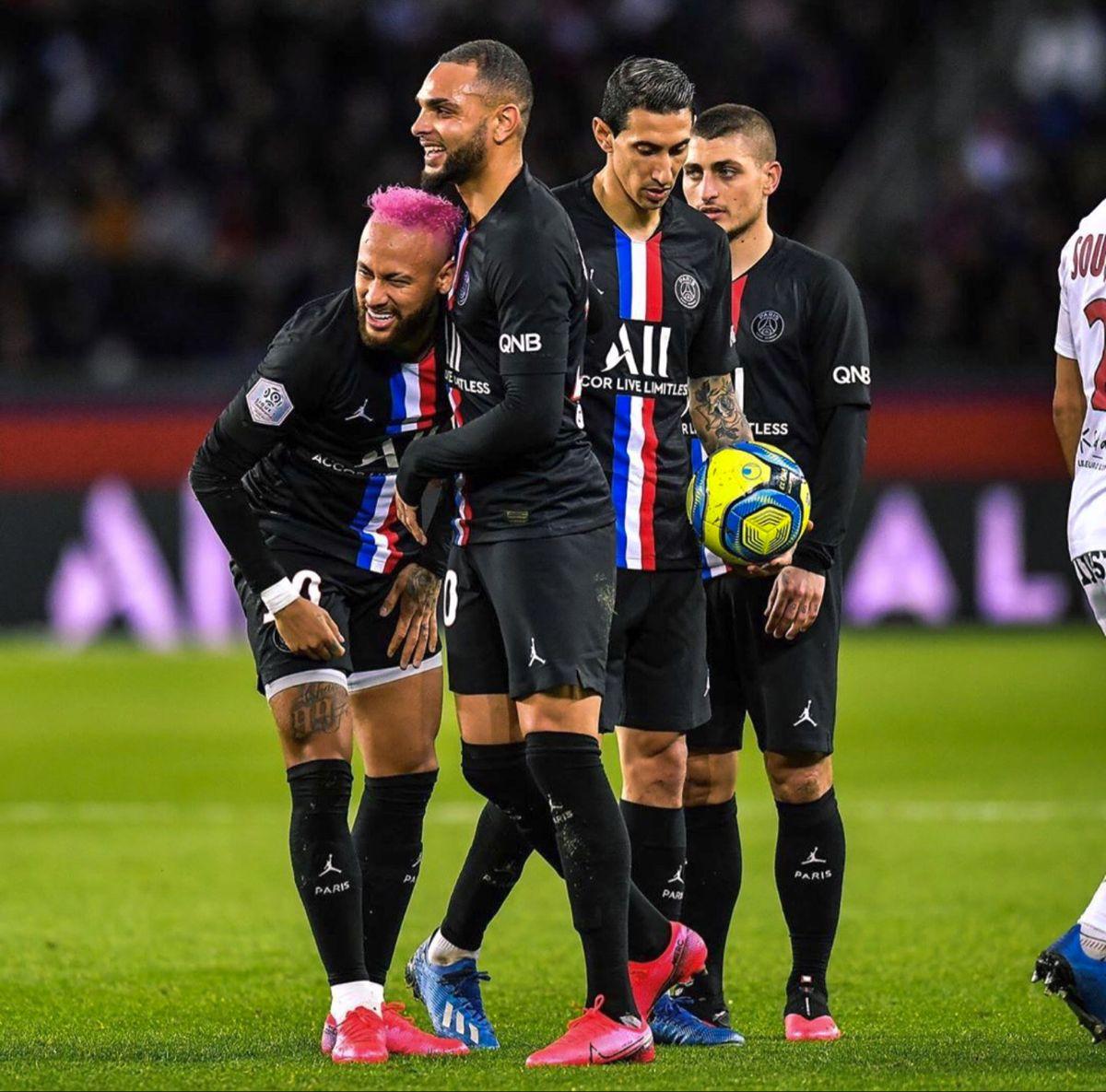 PSG 5x0 Montpellier em 2020 Futebol, Di maria