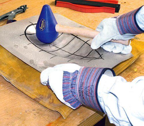 Metal Fabrication Panelbeater Sandbag Teardrop Mallet Sheet Metal Fabrication Metal Workshop Metal Fabrication