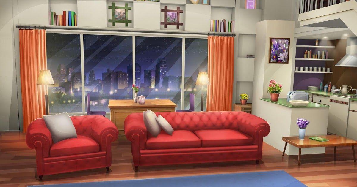 Trends For Anime Living Room Wallpaper