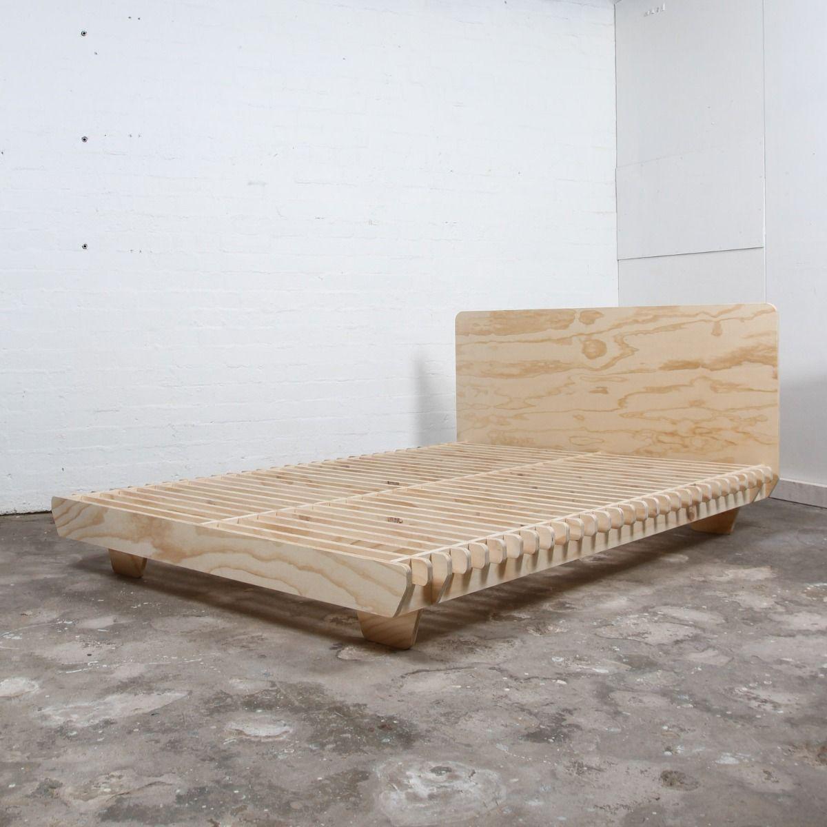 Flet Bed Plywood Bed Designs Homemade Bed Frame Crate Bed