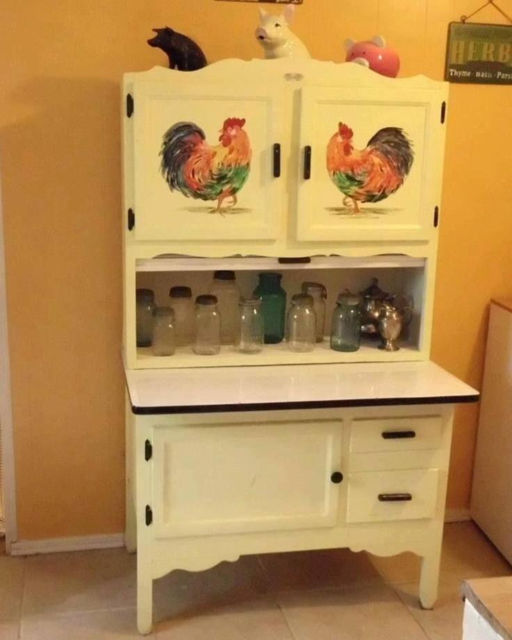 Old Vintage Kitchen: Hoosier Cabinet