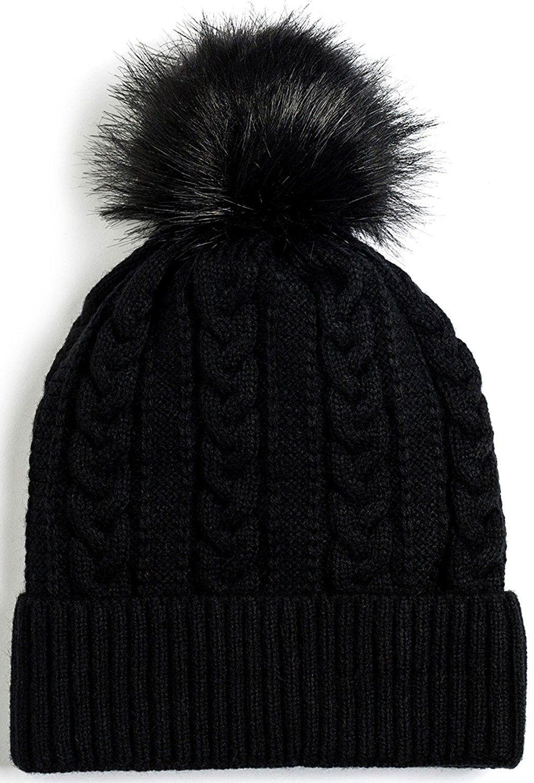 22826ab46d7 Newbee Fashion Winter Beanie Stylish - 2 Pack-black   Gray ...