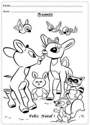 31 Atividades de Natal para Imprimir - Educação Infantil - Aluno On ...