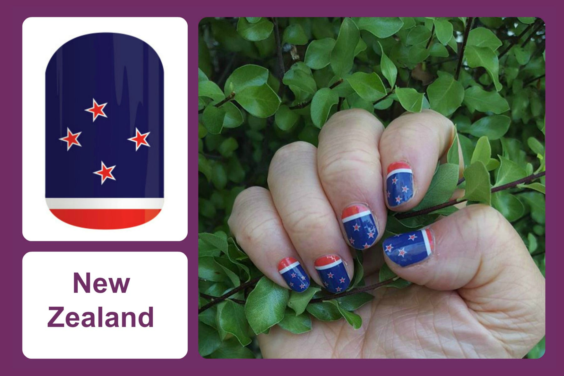 Jamberry Nails   New Zealand   Jamberry Nails: Around the World ...