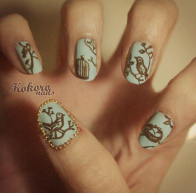 kokoro nails : a nail art blog by a nail polish obsessive   Nail ...