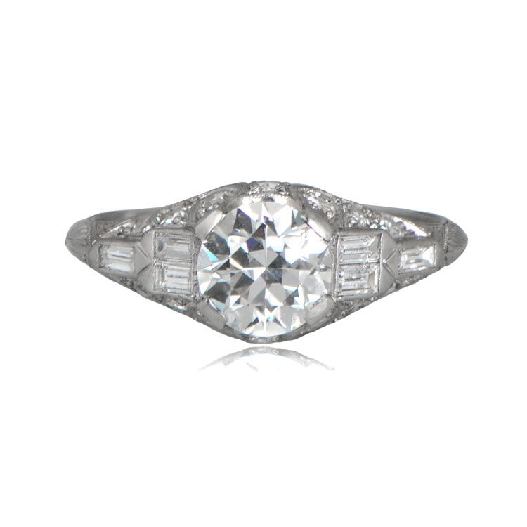 For authentic vintage rings and vintage style rings, visit our studio in New York. Vintage engagement rings are our passion at Estate Diamond Jewelry.