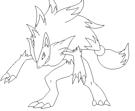 Zoroark Pokemon Coloring Pages Pokemon Coloring Pages Pokemon Pictures To Print Pokemon Coloring