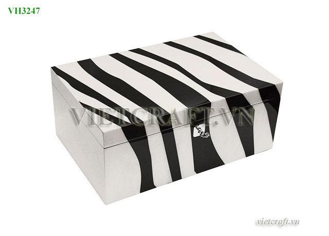 Black And White Decorative Boxes Vh3247 Lacquer Gift Box  Vietnam Lacquer Boxes  Pinterest  Box