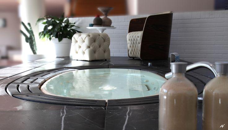 wonderful #sorgente bathtub.sorgente is the italian word for ... - Whirlpool Badewanne Sorgente Teuco