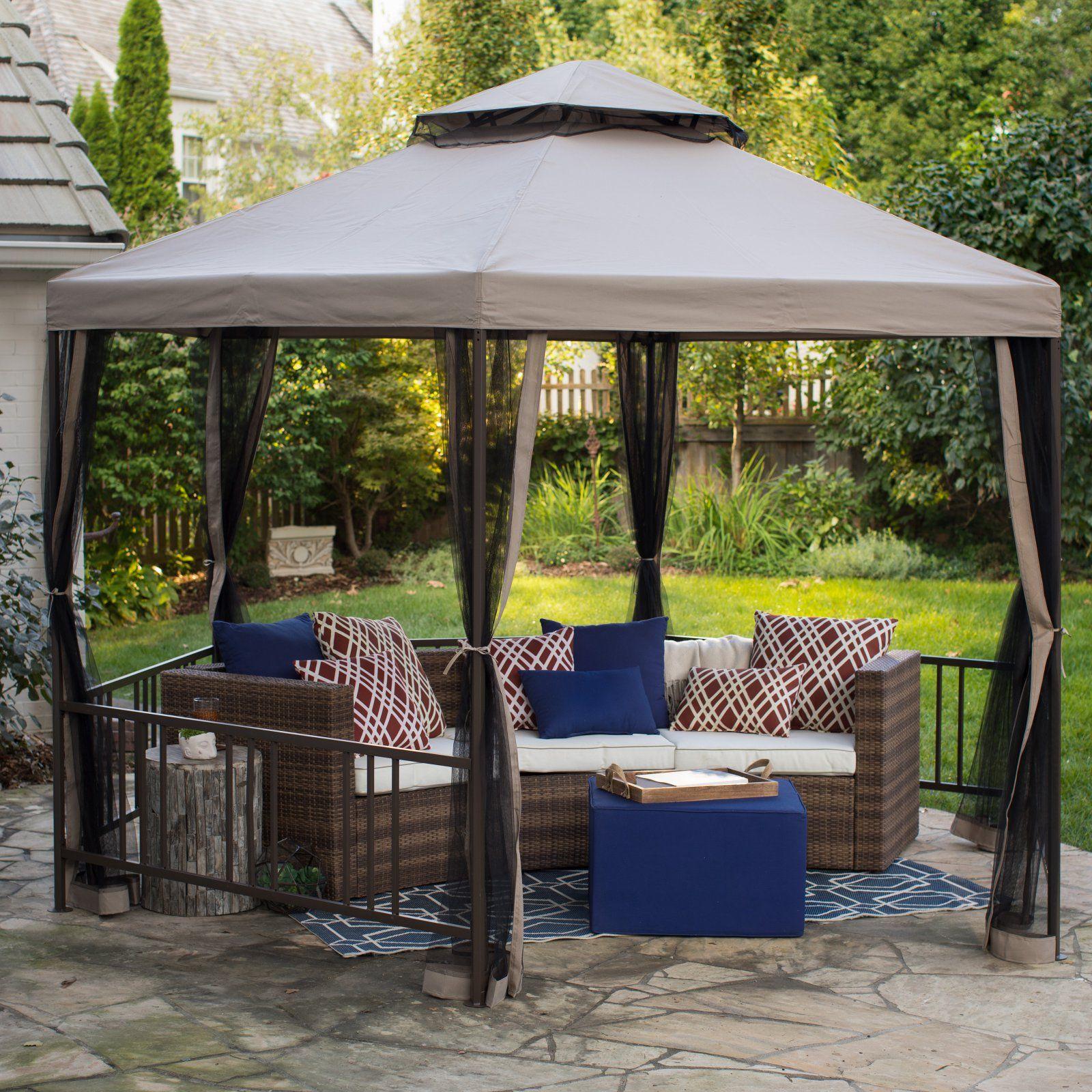 318f5d55d65e8a54c1236500dd645ba9 - Better Homes And Gardens Sullivan Ridge Hardtop Gazebo With Netting