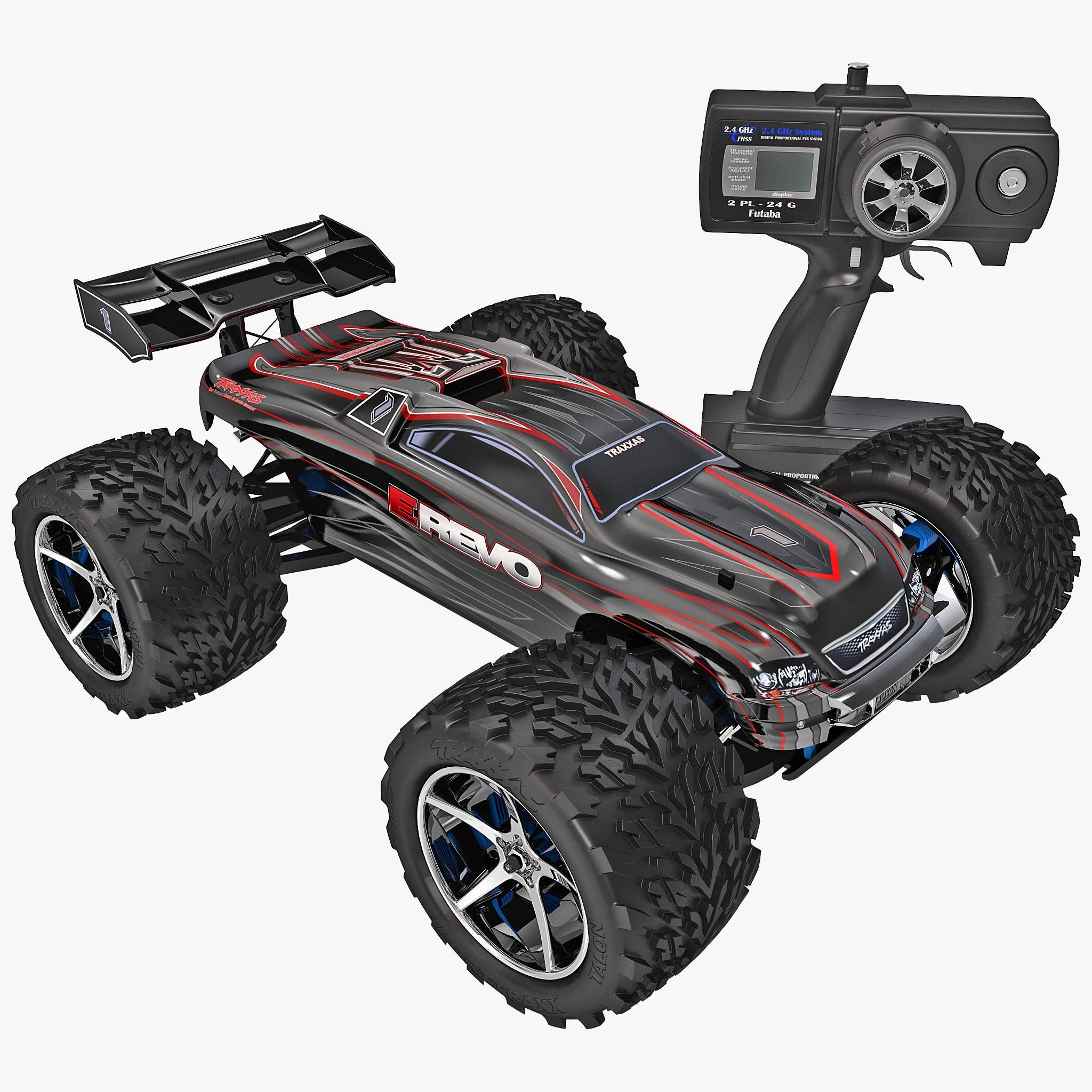 Traxxas Stampede 4X4 1/10 Scale 4wd Monster Truck with TQ