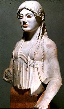 Archaic Sculpture Ancient Art Sculpture Ancient Greek Art