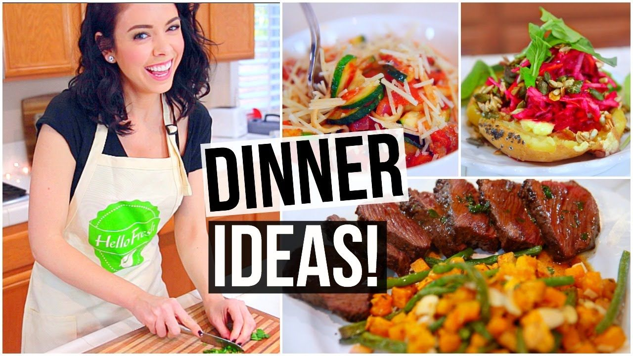 3 easy healthy dinner ideas pinterest easy healthy dinners today i decided to show you guys 3 easy and healthy dinner ideas i am now obsessed with a these recipes and hello fresh and i hope you like them too forumfinder Gallery