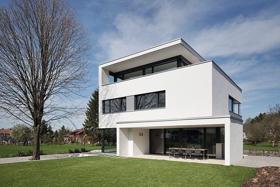 EINFAMILIENHAUS mit PENTHOUSE u2014 Website Architektur Pinterest