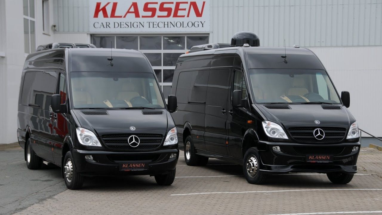 Klassen Vip Sprinter With Luxury Toilet Youtube With Images