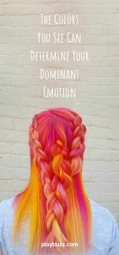 The Colors You See Can Determine Your Dominant Emotion Cool Hair Color Cool Hairstyles Bright Hair