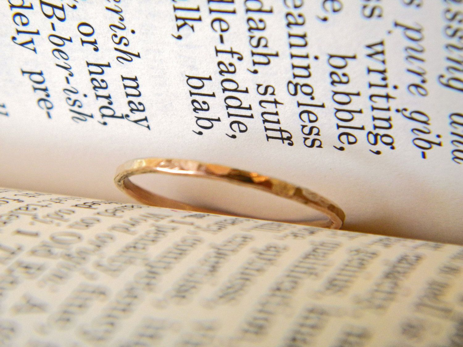 Gold Thumb Ring 12 Karat Gold Filled Hammered Stacking Ring Stackable Thumb Ring Women S Jewelry Gold Thumb Rings Thumb Rings Jewelry