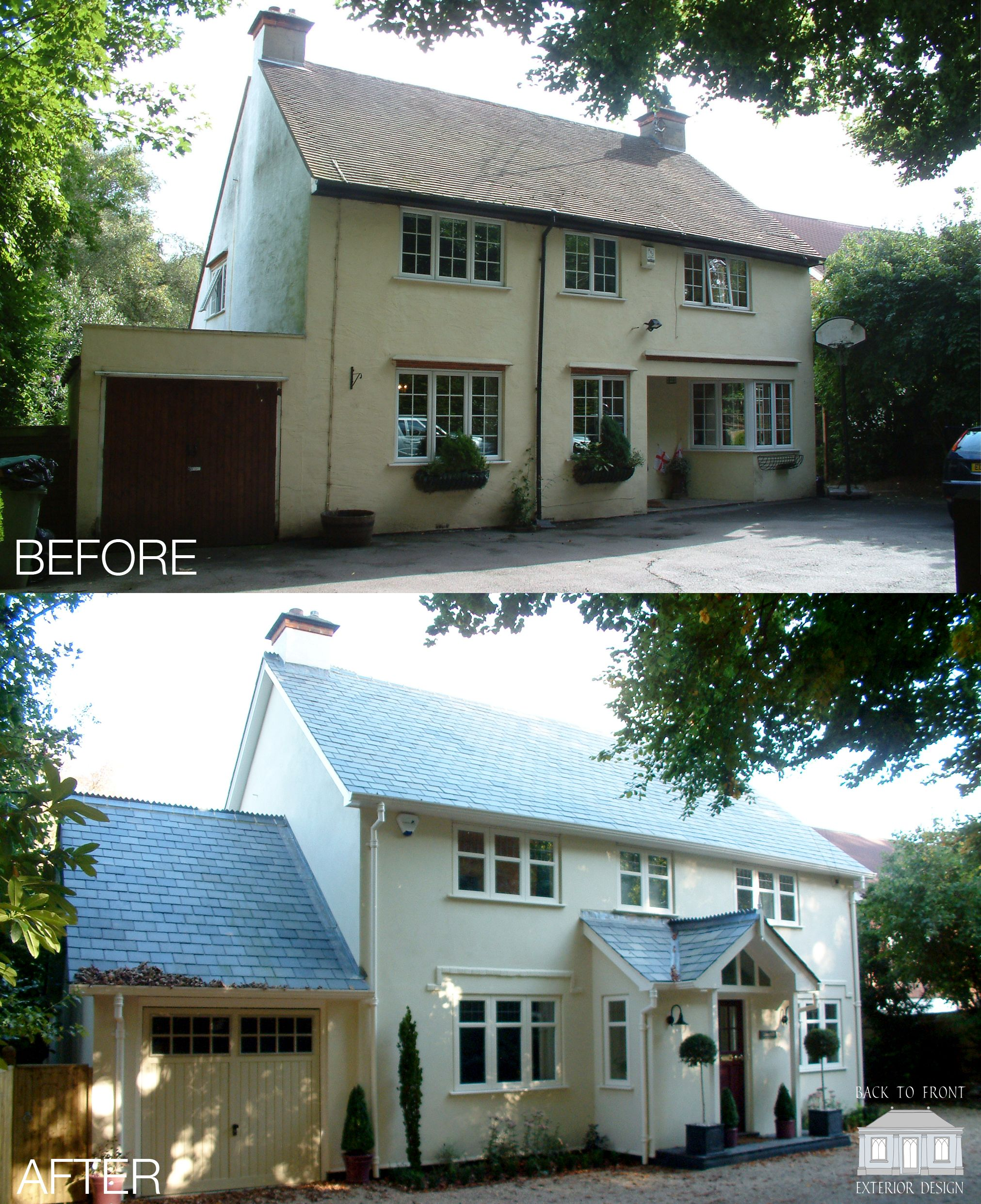 Modern Homes Front And Back: Complete Renovation Of This Lovely Berkshire Home By Back