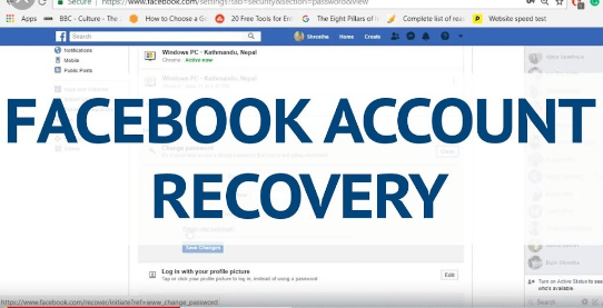 Facebook Recovery How Do I Recover My Facebook Account Account